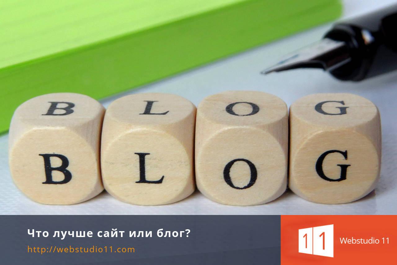Что лучше сайт или блог?